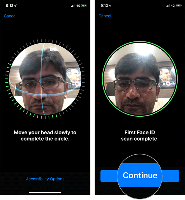 Set Up Multiple Face ID on iPhone X