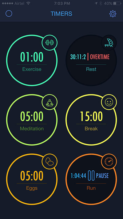 Set Up Multiple Timers on iPhone with MultiTimer App