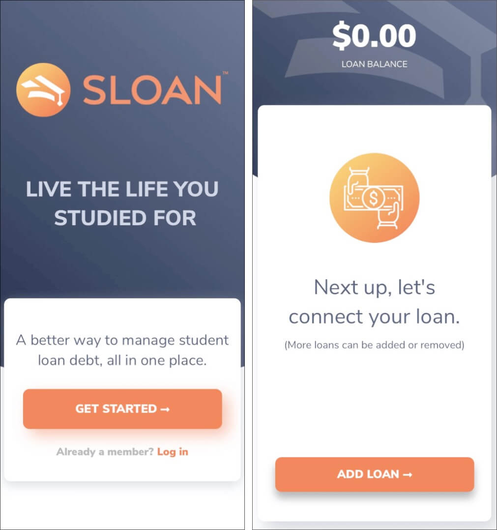 Set up Sloan app on your iPhone