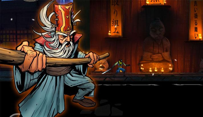 Shadow Blade iPhone and iPad Ninja Game Screenshot