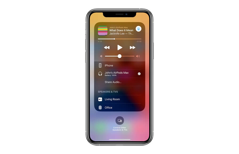 Share Audio with AirPods Max