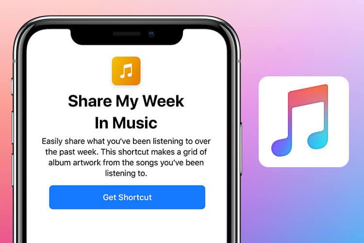 Share My Week In Music Siri Shortcut