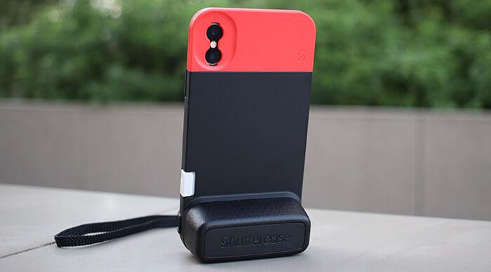 ShutterCase iPhone X, Xs, and iPhone 7- 8 Plus Camera Case