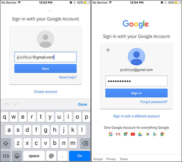 Sign In to Pokemon Using Google Account