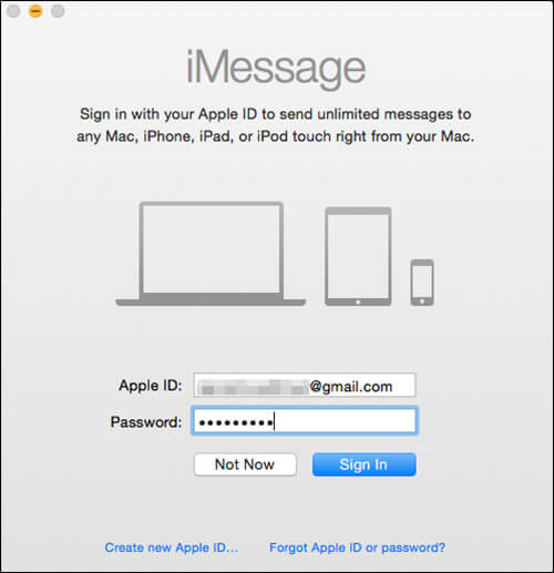 Sign Into iMessage on Mac