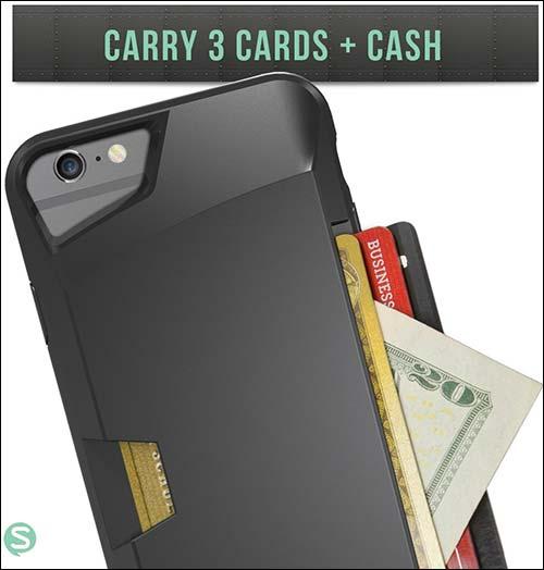 Silk Vault Slim iPhone 6 Wallet Case