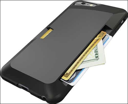 Silk Vault iPhone 6 Plus Slim Wallet Case