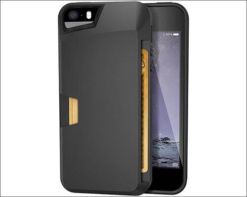 Silk Wallet Slayer iPhone 5 Case