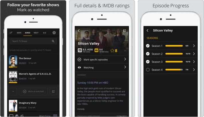 Simkl Lists iPhone and iPad App Screenshot