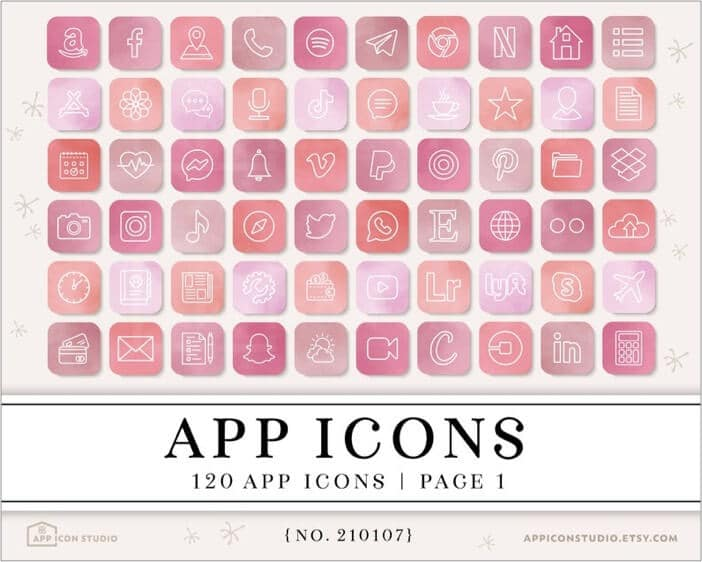 Simple Valentines Day iPhone apps icon