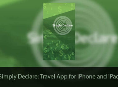 Simply Declare iPhone and iPad Travel App Redesigned