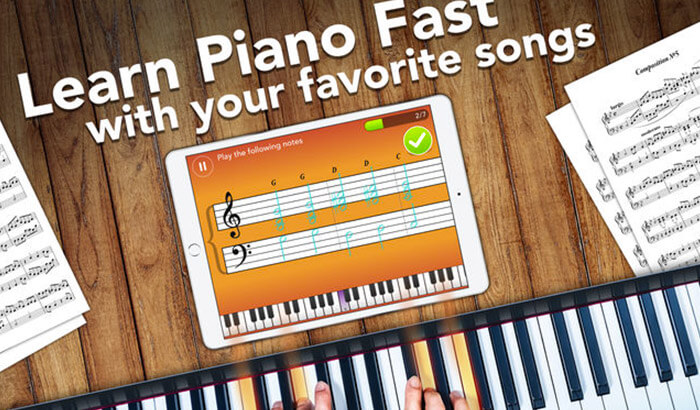 Simply Piano by JoyTunes iPhone and iPad App Screenshot