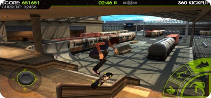 Skateboard Party 2 iPhone Skateboard Game Screenshot