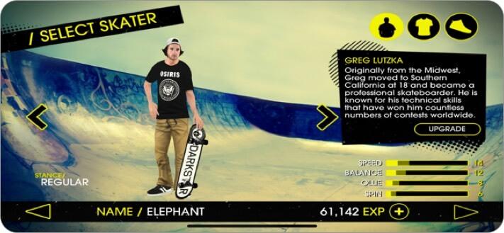 Skateboard Party 3 iPhone Skateboard Game Screenshot