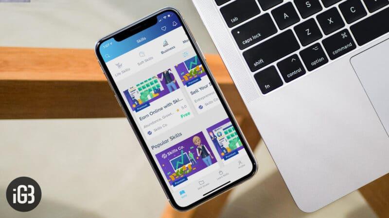 Skills iPhone App