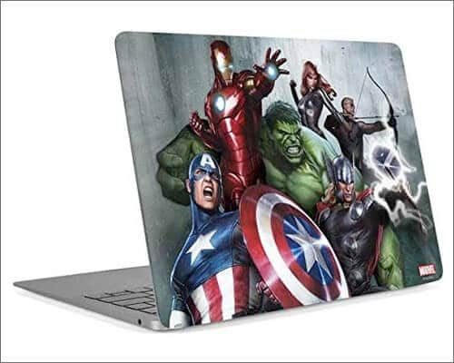 Skinit Marvel Avengers Skin for 16 inch MacBook Pro