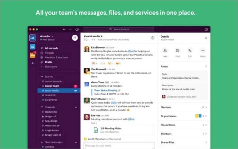 Slack Screensharing App for Mac