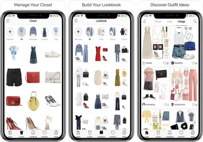 Smart Closet iOS App Screenshot