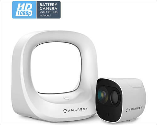 Smart Outdoor Home Security Camera System from Amcrest