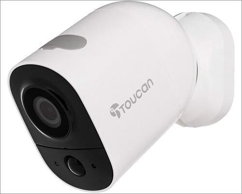 Smart Outdoor Security Camera from TOUCAN