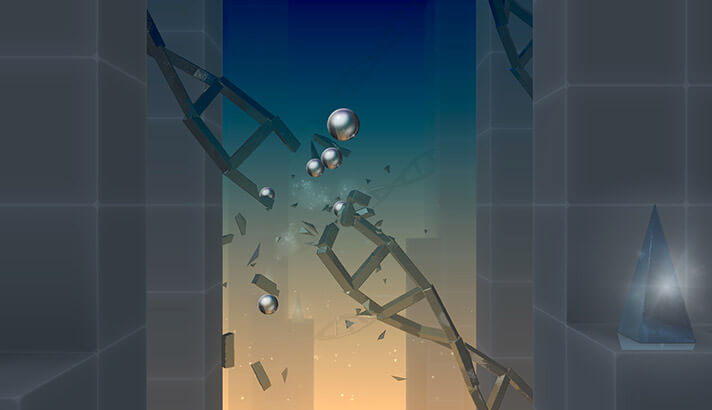 Smash Hit iPhone and iPad Arcade Game Screenshot