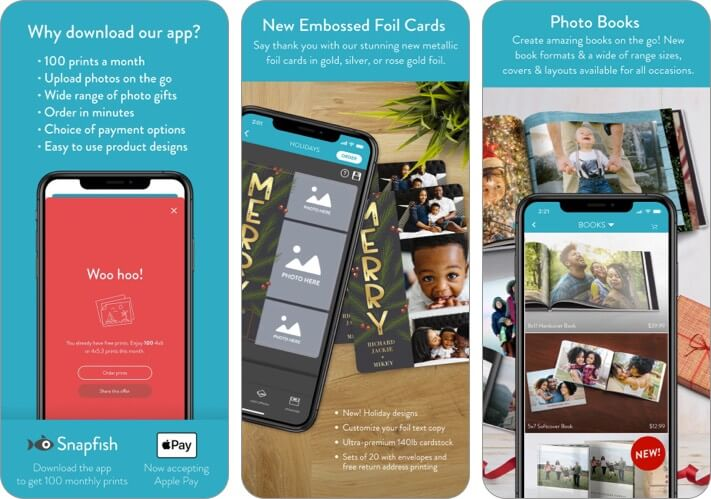 Snapfish iPhone and iPad App Screenshot