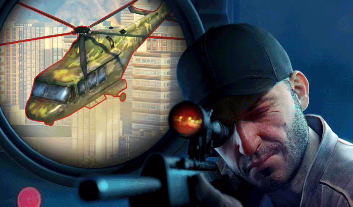 Sniper 3D First Person Shooter iPhone and iPad Game Screenshot