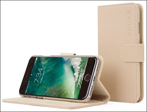 Snugg iPhone 7 Plus Wallet Case