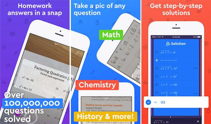Socratic Math & Homework Help iPhone and iPad App Screenshot