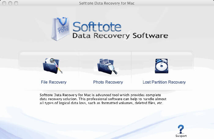 Softtote Mac Data Recovery Software