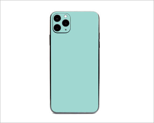 Solid Seafoam iPhone 11 Pro Skin Wraps