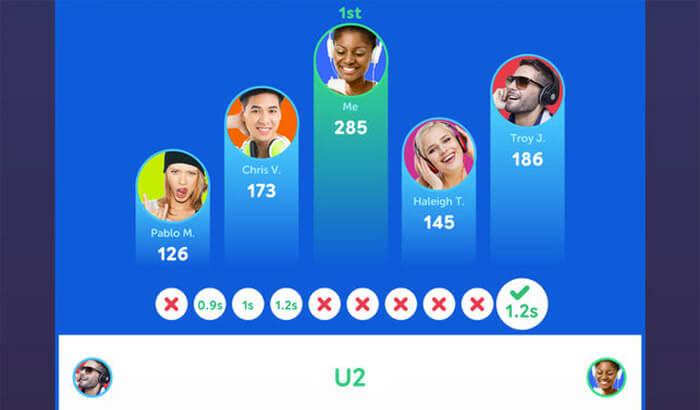 SongPop 2 – Music Quiz iPhone and iPad Game Screenshot