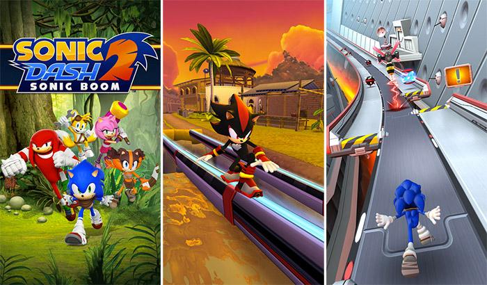 Sonic Dash 2 Endless Runner iPhone and iPad Game Screenshot