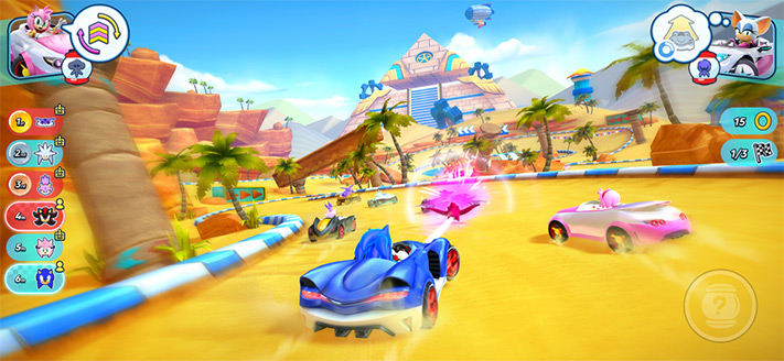 Sonic Racing Apple Arcade Multiplayer Game