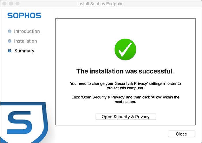 Sophos Free Antivirus for Mac