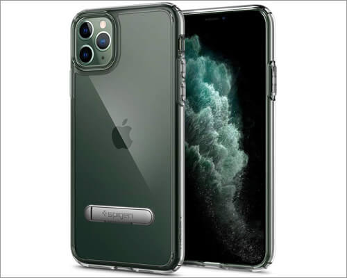 Spigen Crystal Clear Wireless Charging Compatible Case for iPhone 11 Pro