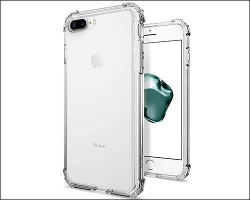 Spigen Crystal Shell iPhone 8 Plus Clear Case