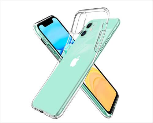 Spigen Liquid Crystal Wireless Charging Case for iPhone 11
