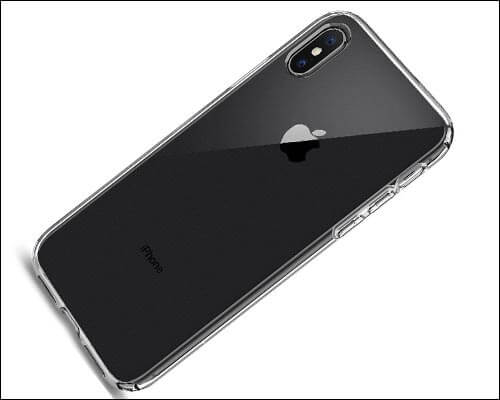 Spigen Liquid Crystal iPhone X Clear Case