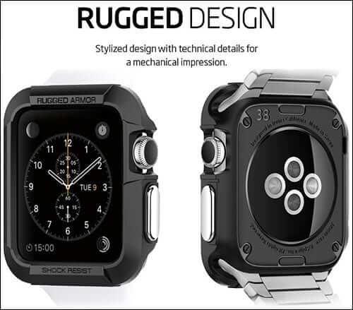 Spigen Resilient Rugged Armor Apple Watch Case