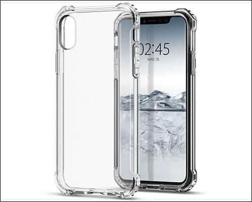 Spigen Rugged Crystal iPhone X Bumper Case
