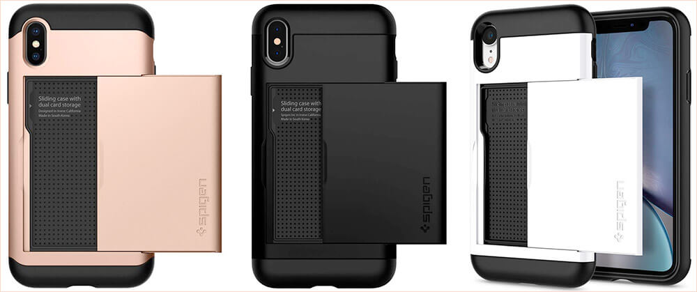 Spigen Slim Armor CS Cases for iPhone Xs Max, Xs, and iPhone XR