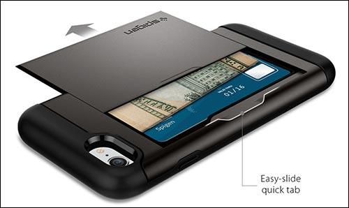 Spigen Slim Armor CS iPhone 7 Wallet Case
