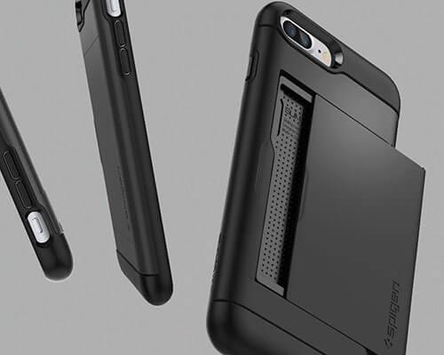 Spigen Slim Armor CS iPhone 8 Plus Wallet Case