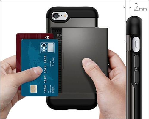 Spigen Slim Armor CS iPhone 8 Wallet Case