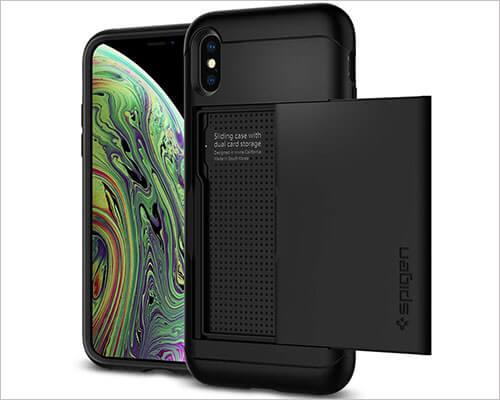 Spigen Slim Armor CS iPhone X-Xs Wallet Case
