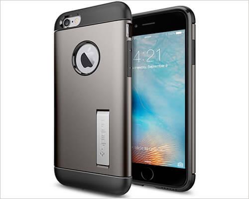Spigen Slim Armor iPhone 6-6s Kickstand Case
