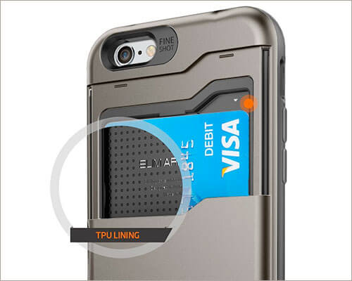 Spigen Slim Armor iPhone 6-6s Wallet Case
