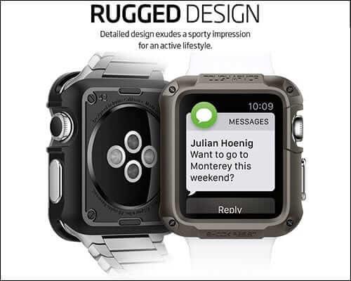 Spigen Tough Armor Apple Watch Case
