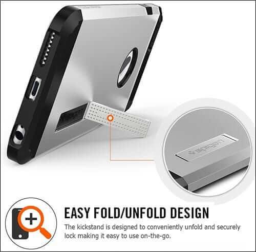 Spigen Tough Armor iPhone 6 Plus Kickstand Case